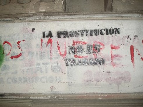 la prostitucion no es trabajo
