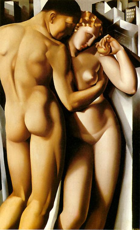 Tamara de Lempicka-Adam and Eve, 1932